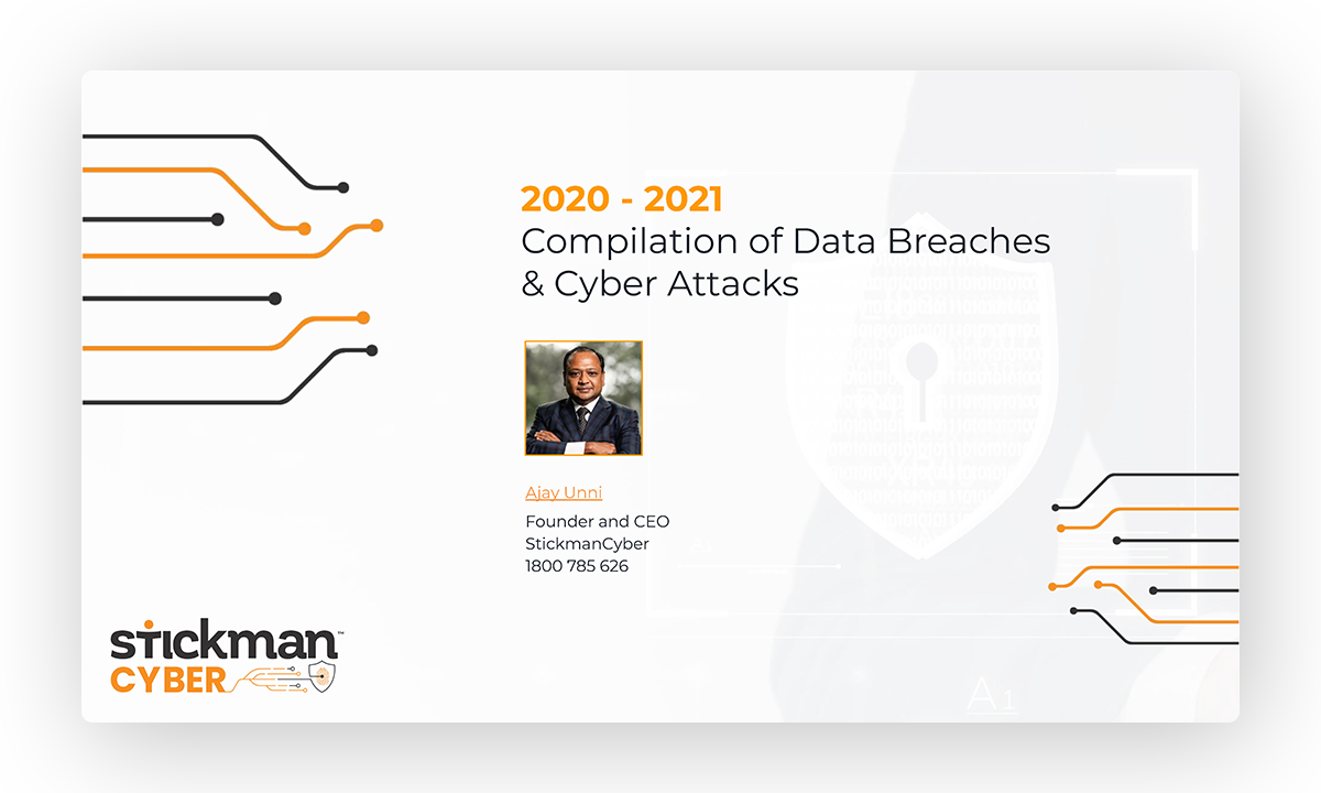 2020 - 2021 Compilation of Data Breaches & Cyber Attacks